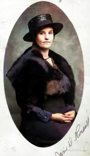 Jane (Deaton) Russell formal photograph